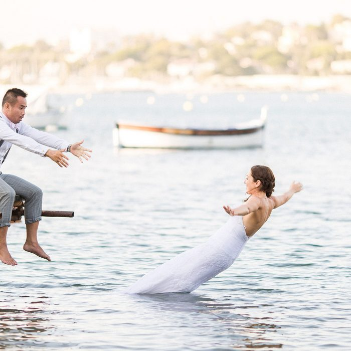 Trash the dress Aurore & Luan