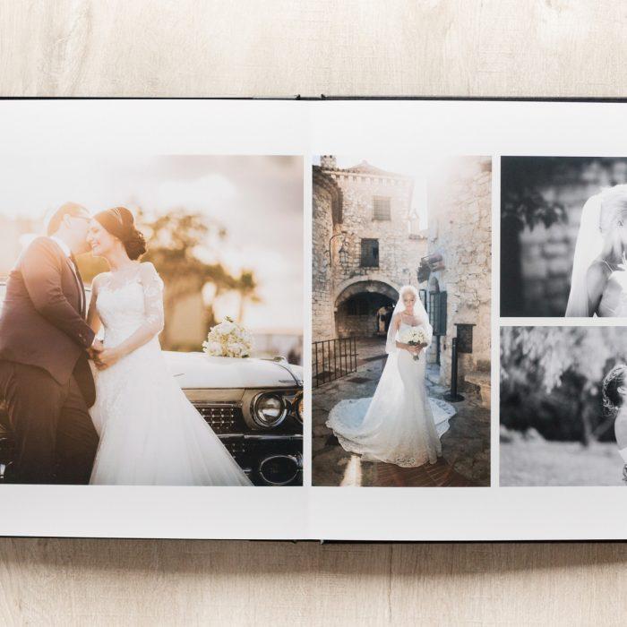 Livre photos mariage haut de gamme