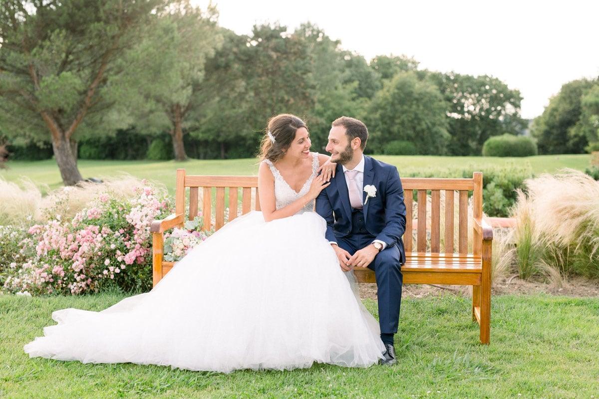 mariage au golf arcangues
